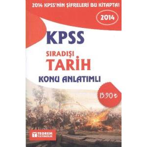 KPSS 2014 Sıradışı Tarih Konu Anlatımlı