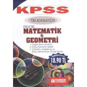 KPSS 2014 Tüm Adaylar İçin Pratik Matematik ve Geo