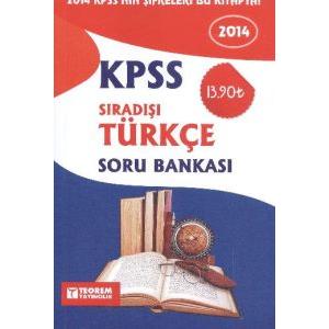 KPSS 2014 Sıradışı Türkçe Soru Bankası