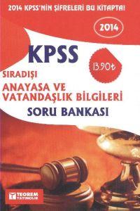 KPSS 2014 Sıradışı Anayasa ve Vatandaşlık Bilgiler