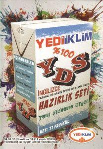 Yediiklim YDS İngilizce Hazırlık Seti 2013