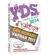 YDS İngilizce Çek Kopart Yaprak Test 2014
