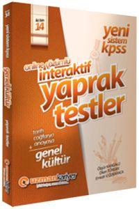 2014 KPSS Genel Kültür İnteraktif Çek Kopar Testle