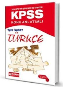 2014 KPSS Konu Anlatımlı Tam İsabet Türkçe