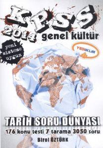 KPSS Genel Kültür Tarih Soru Dünyası 2014