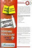 KPSS Eğitim Bilimleri Öğrenme Psikolojisi Yaprak T