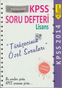 KPSS Soru Defteri Türkçecinin Özel Soruları X Yayı