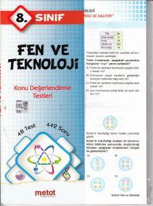 Metot 8. Sınıf Fen ve Teknoloji Konu Değerlendirme