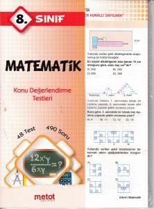 8. Sınıf Matematik Konu Değerlendirme Testleri