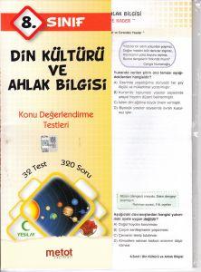 Metot 8. Sınıf Din Kültürü ve Ahlak Bilgisi Konu D