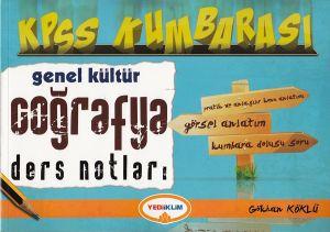 Yediiklim KPSS Kumbarası Genel Kültür Coğrafya Der