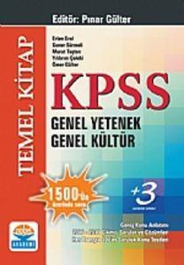 KPSS Genel Yetenek Genel Kültür Temel Kitap