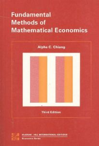 Fundamental Methods Of Mathematical Economics 3 Ed