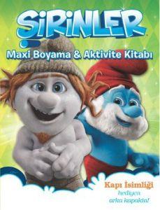 Şirinler - Maxi Boyama ve Aktivite Kitabı