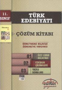 Editör 11. Sınıf Türk Edebiyatı Çözüm Kitabı
