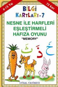 Bilgi Kartları 7 - Nesne İle Harfleri Eşleştirmeli