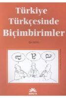 Türkiye Türkçesinde Biçimbirimler