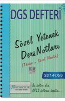 2014 Dgs Defteri Sözel Yetenek Ders Notları