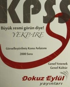 KPSS Yekpare Genel Yetenek - Genel Kültür Görselleştirilmiş Konu Anlatımı (2000 Soru)